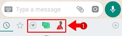 Whats App Sticker Kaise Bheje / Send Kare
